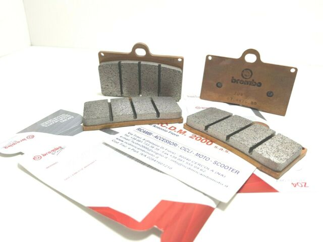 BREMBO FRONT BRAKE PADS Z04 M538Z04 RACING YAMAHA T MAX 530 YEAR 2016