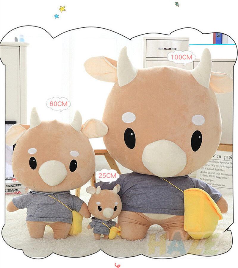 Korean TV Why Secretary Kim  Plush Toy Hard Cow Soft Doll Girlfriend Gift 23