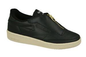 Reebok Classic Club C 85 Zip Sizes 3, 3.5 Black RRP £80 Brand New BS6608