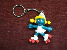 1980's SMURFETTE KEY CHAIN - NEW & UNDAMAGED - HAVE A L@@K