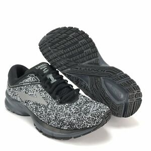 5f9cfe5ad3ff6 Image is loading Brooks-Mens-Launch-5-Black-Gray-Running-Shoes-