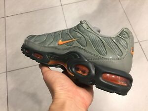 best website fabc7 268e6 Details about Nike Air Max Plus TN all Out 90 95 1 Black green OG white  olive Gray red orange