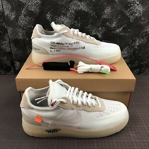 Nike Air Force 1 x Off White with Box