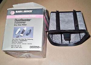 FILTRO-DI-RICAMBIO-BLACK-amp-DECKER-DB005D-DUSTBUSTER-POWERPRO-DRY-VAC-FILTER