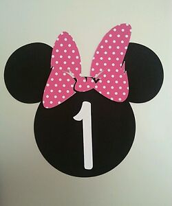 Minnie Mouse Pink DIY Invitations Set of 20 Personalized with age