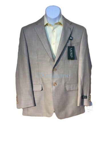 NWT $295 Lauren Ralph Lauren Mens 38R Polyester Rayon Blazer Jacket Sport Coat
