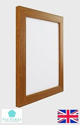 "Oak Photo Picture 28mm Frame 15x15 15x16 15x17 15x18 15x19/"" 15x20-36/"" Inch Mount"