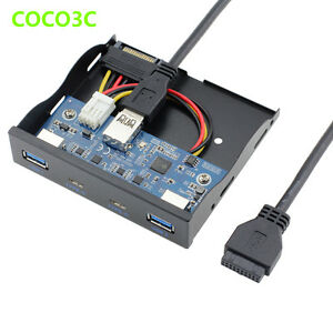2 port usb 3 1 type c usb 3 0 a hub to 20pin header front for Porte 1 3 2 3