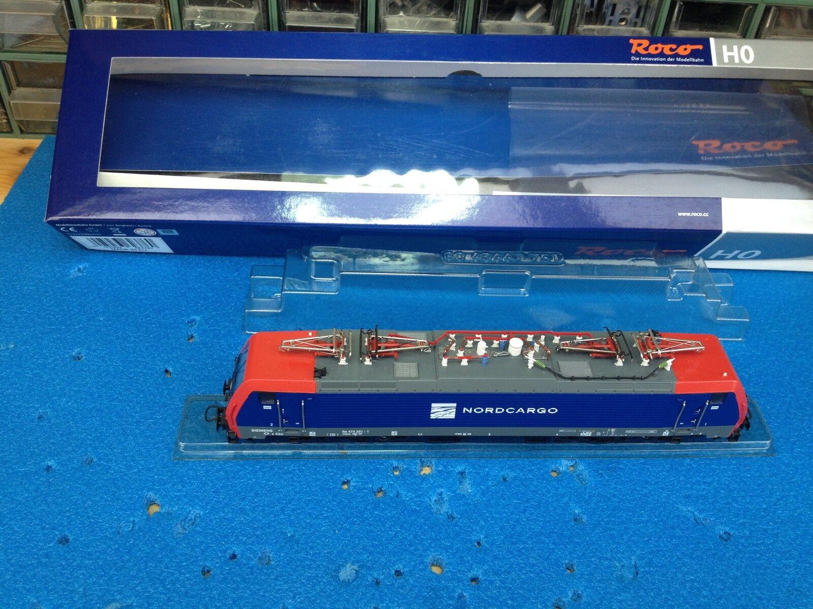 ROCO 62376 E-LOK NORD CocheGO E474.201 digital Lenz