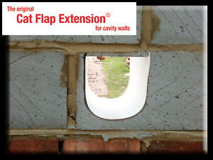 Cat-Flap-Extension-Extender-creating-a-tunnel-bridge-for-thick-or-cavity-walls
