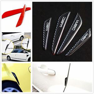 Details about WRC 4x car door guard edge trim door bumper protector sticker  car accessories