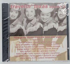 OOP-Travelin-Texas-Volume-3-CD-Jerry-Jeff-Walker-Gary-Nunn-Pat-Green-SEALED