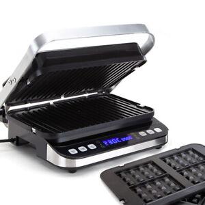 EUROCHEF-Smart-Multi-Contact-Grill-Sandwich-Panini-Press-Maker-Fast-Cafe-Style