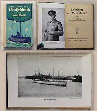 König: Die Fahrt der Deutschland 1916 Erstausgabe - Marine Militärgeschichte -xz