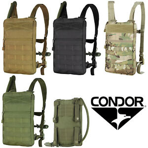 db16f5a3d86b Details about Condor 111030 Tactical MOLLE Hiking Tidepool Hydration  Carrier w/ 1.5L Bladder