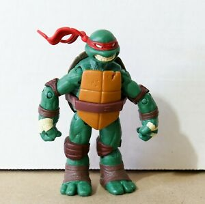 "TMNT Raphael 4.5-5"" Toy / Action Figure - Nickelodeon Viacom Playmates 2012 NM"