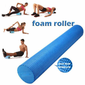 90x15cm physio foam roller yoga pilates back gym exercise