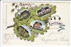 LEBUS-LITHO-GRUSS-AUS-KONTOPP-KONOTOP-KOLZIG-1904