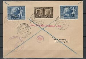 G3376-GERMANY-REICH-ITALY-MIXED-FRANKING-COVER-LAIBACH-CANCELS