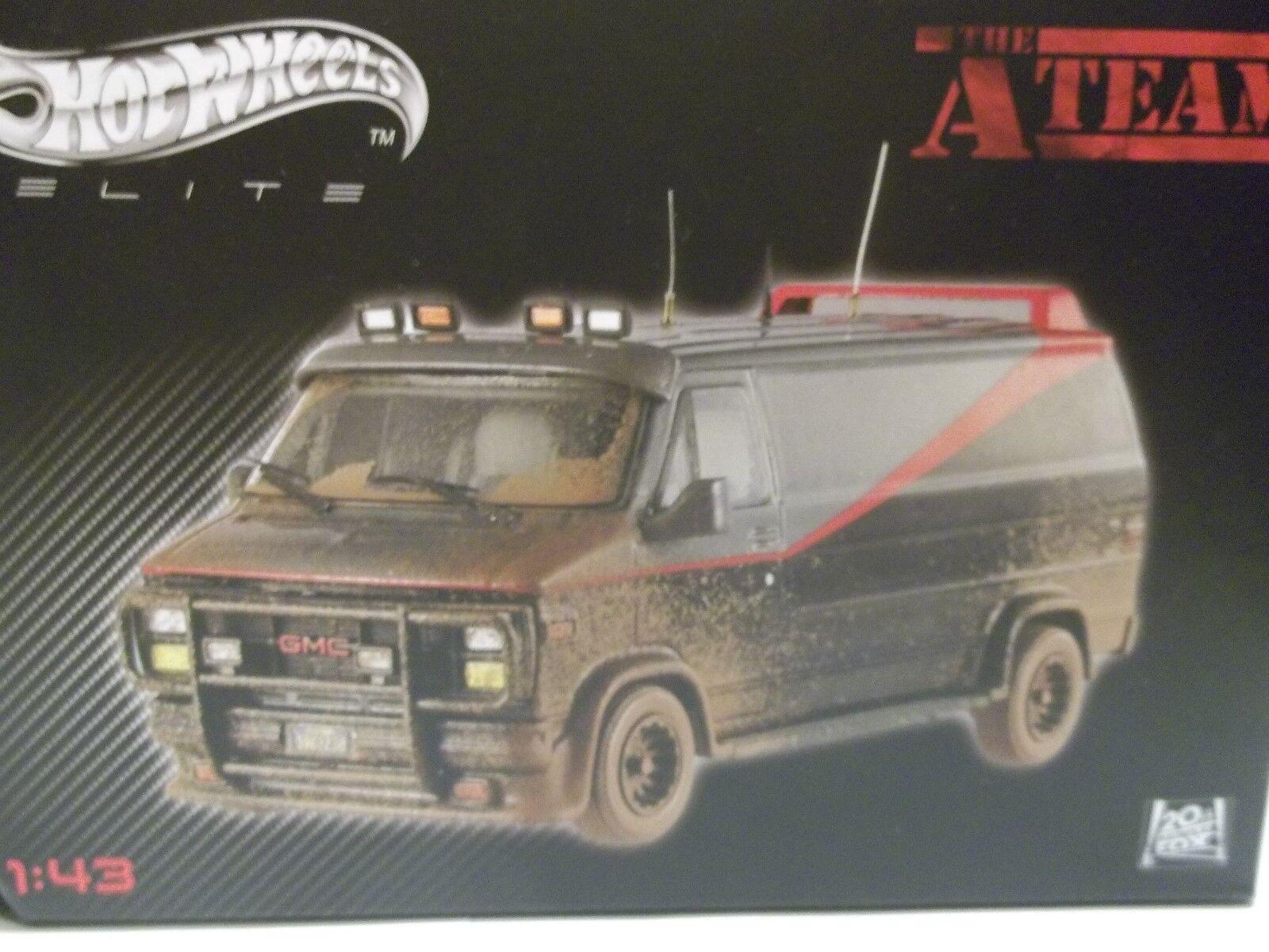 Hot Wheels Elite GMC A Team Van  Muddy Version 1 43 Brand New