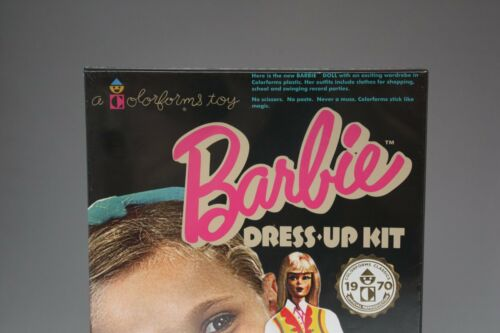 BARBIE COLORFORMS DRESS UP KIT NEW OFFICAL REPRODUCTION 1970 CLASSICS NEW
