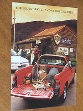 1993 Holden VR Ute including S original Australian 12 page brochure