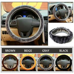 4Color-Warm-Plush-Steering-Wheel-Cover-Winter-Furry-Fluffy-Soft-Plush-Car-Wheel