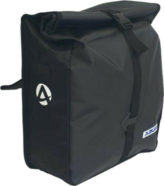 Azur Metro Bike Pannier Bag Black