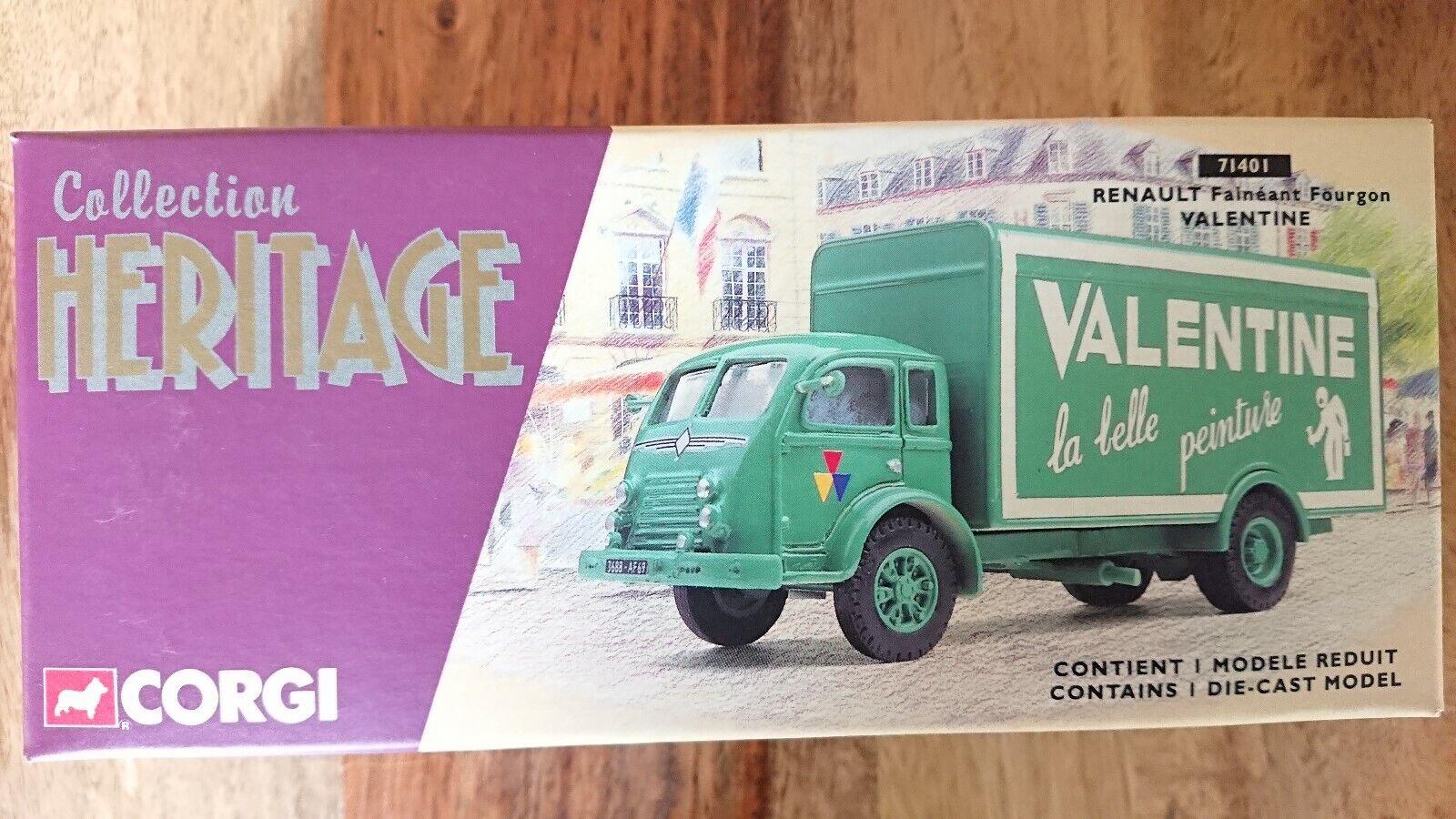 CORGI 71401 RENAULT FAINEANT baggage car Valentine Ltd Edition No 0002 de 4000
