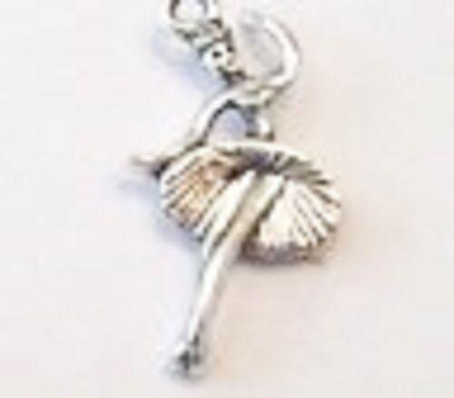 Ballerina Clip encanto-tibetian Silver-Nuevo