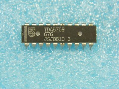 Philips Dip20 New Can Be Repeatedly Remolded. Diplomatic Ci Tda 5709 Ic Tda5709