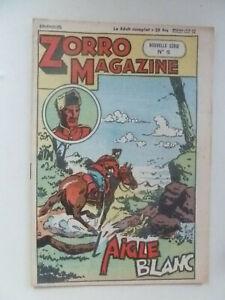 EDITION CHAPELLE /  ZORRO  MAGAZINE  /  NOUVELLE SERIE  NUM 5  /  1951