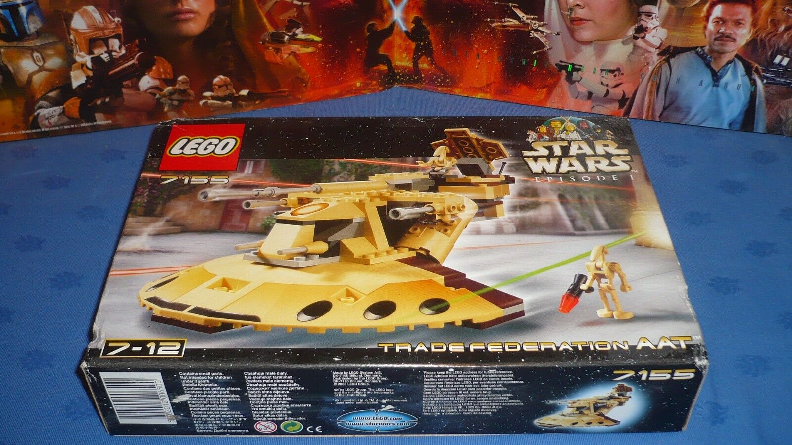 LEGO STAR WARS 7155 100% NEUF   SEALED