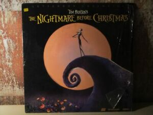 Tim-Burton-039-s-THE-NIGHTMARE-BEFORE-CHRISTMAS-Letterbox-LASERDISC-Dolby