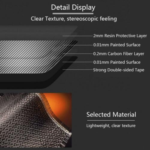 1pc Exterior Front Grill Frame Grille Cover Trim for Alfa Romeo Giulia 2016-2018