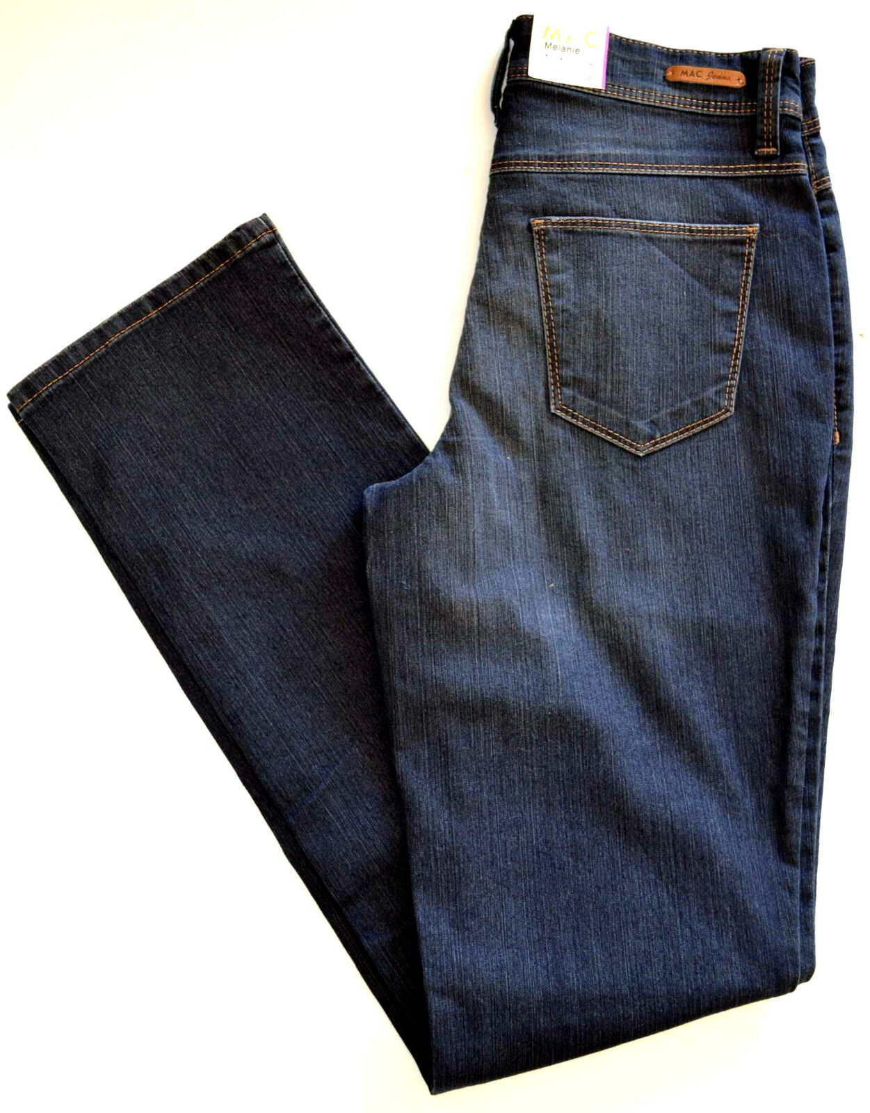 MAC MELANIE Jeans Denim Stretch blau pure straight fit BASIC  NEU