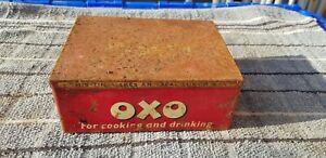 Vintage Oxo Cubes Tin