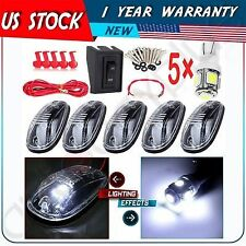 For 12-16 Dodage Ram 2500 3500 Clearance LED Light Cab Roof Marker Light Smoked