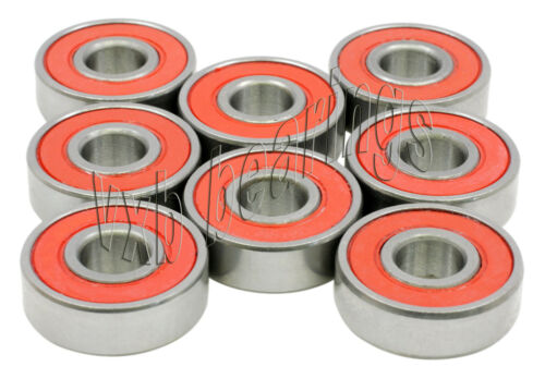 Set of 8 Sealed Speed Skateboard Ball Bearings