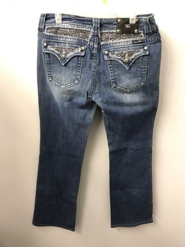 con patta Miss bootcut Me posteriore Tasche Jeans angosciata 34 7vOCqv