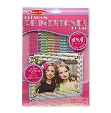 Melissa & Doug Press-On Rhinestones Picture Frame #9239 Brand New