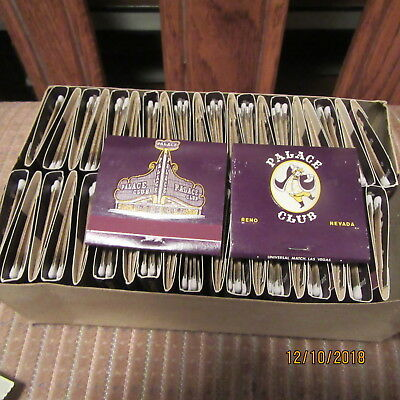 Outstanding Palace Club Reno Nevada Box Of Matches Box Of 50 Ebay Birthday Cards Printable Opercafe Filternl