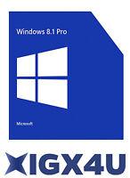 Microsoft Ms Windows 8.1 Professional Product Key 32/64 Bits - Win 8.1 Pro
