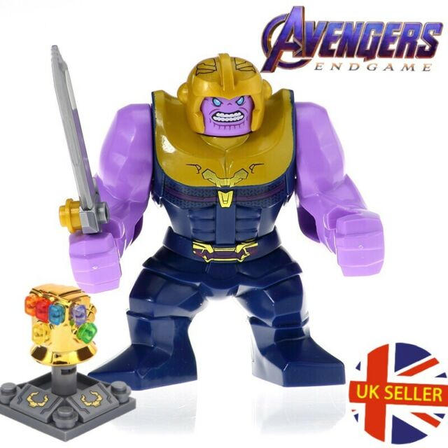 Thanos End Game War Set Figure Lego Fit Avengers Infinity Gauntlet Toy UK Seller