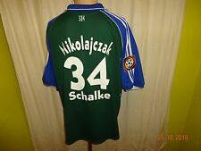 FC Schalke 04 Adidas Meister der Herzen Trikot 00/01 + Nr.34 Mikolajczak Gr.XXL