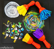 Texture Wands Set 2 Painting tools X 4 to create fun and unique designs (AP2026)