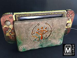 039-Sheikah-Switch-Mod-039-the-Zelda-Breath-of-the-Wild-custom-console-by-MakoMod