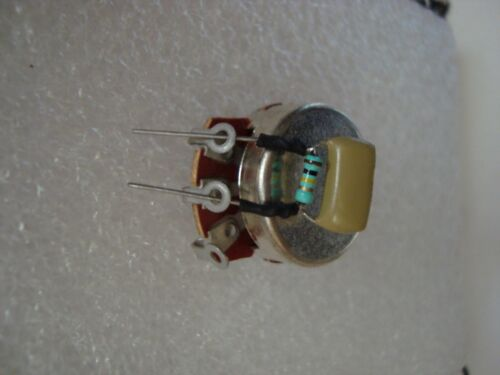 1 treble bleed 100k P90... 1,5nF single coil humbucker