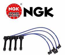 Honda Civic Crx NGK Blue OEM Spark Plug Wire Set HE53 Made In Japan
