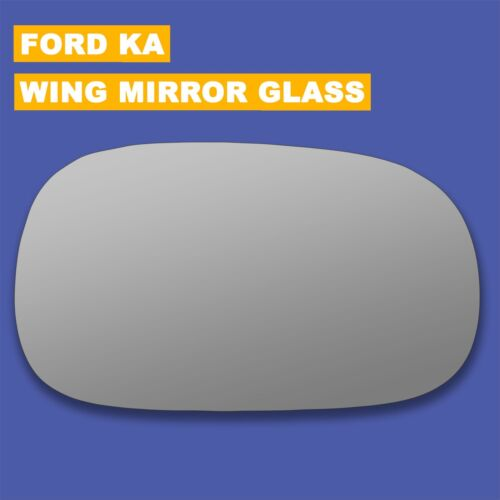 For Ford KA wing mirror glass 96-08 Right Driver side Spherical